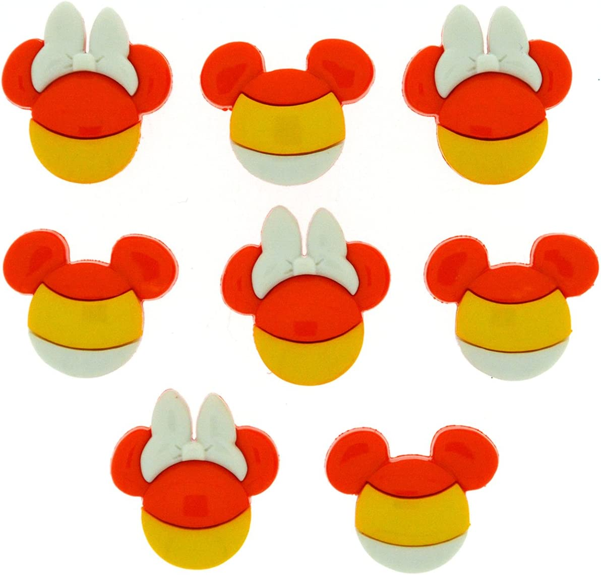 Novelty Craft Buttons /& Embellishments by Dress It Up Disney EVERYTHING MICKEY