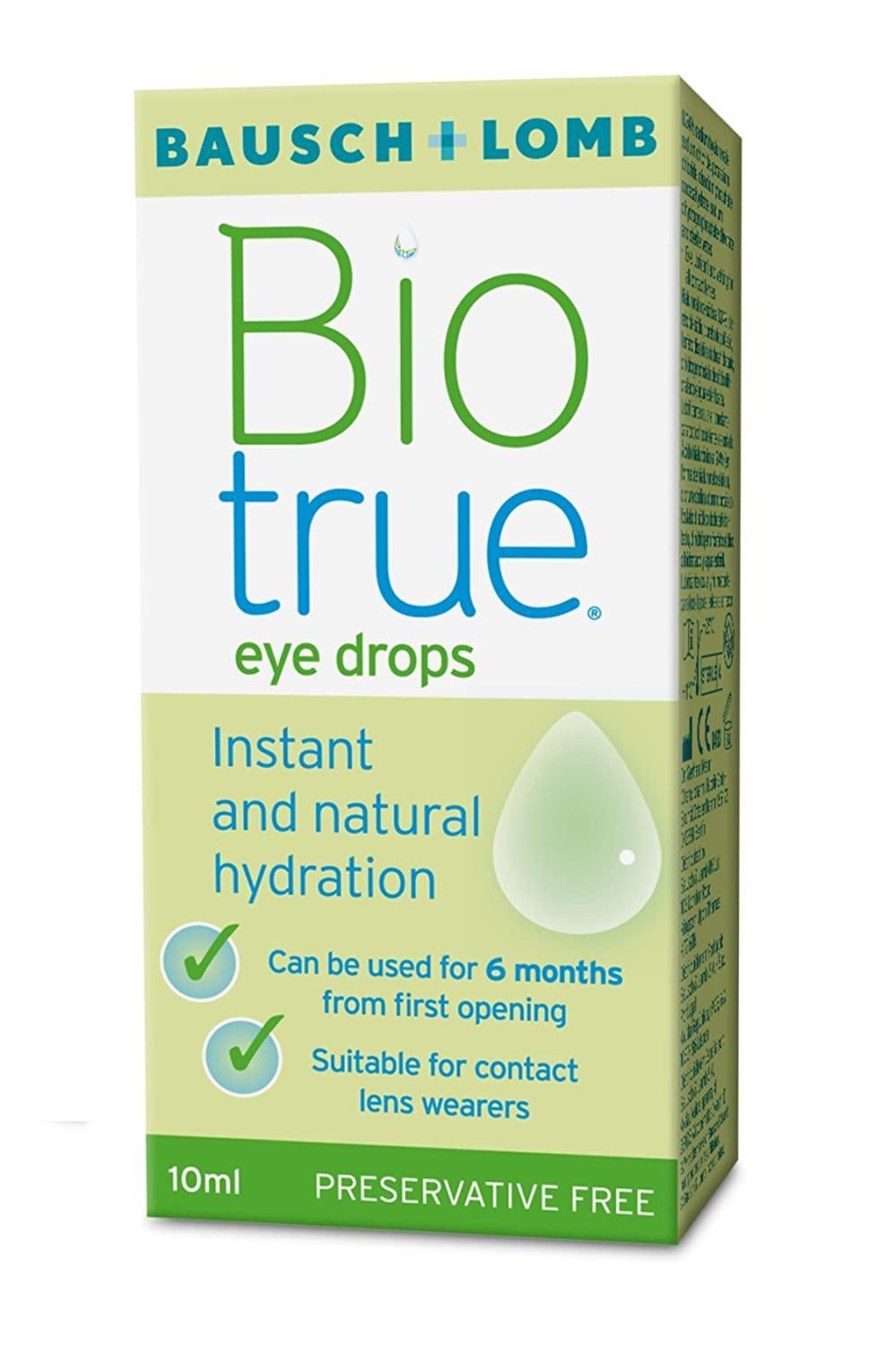 The drug Blink Intensive (eye drops): instructions, reviews
