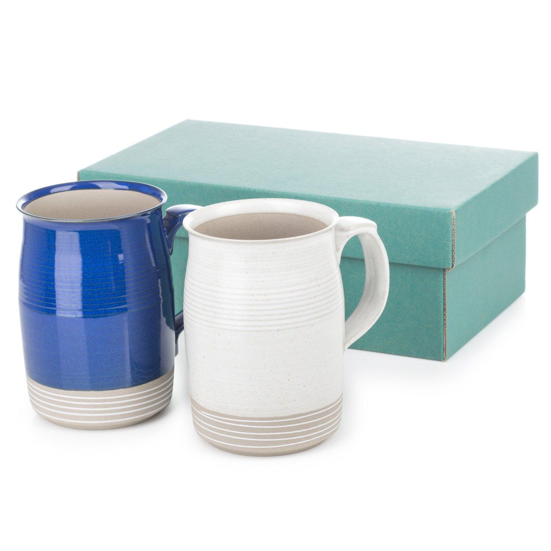 Blue and White Japanese Mug Set The Japanese Shop