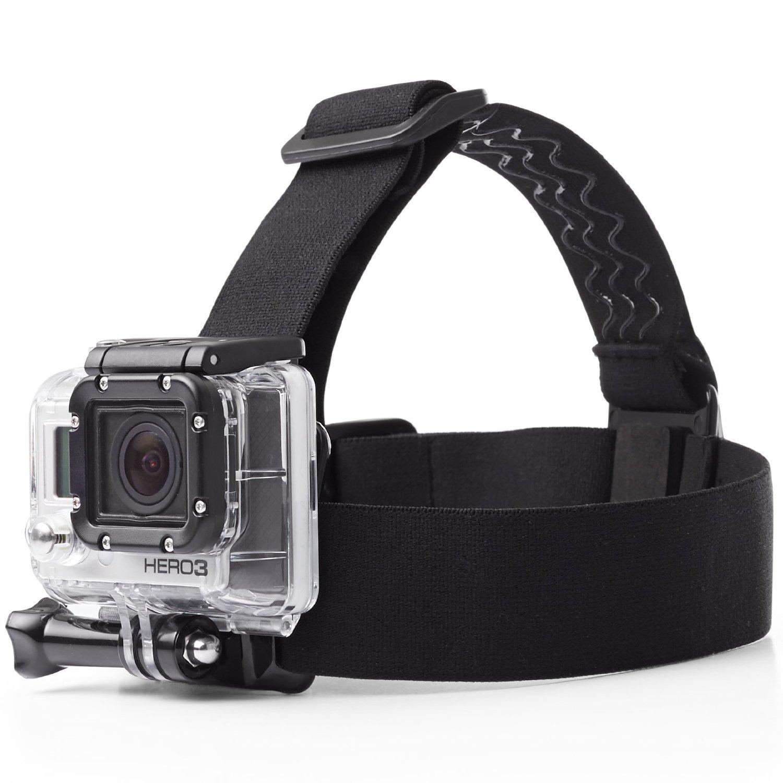 体や頭に装着して撮影する時のおすすめアイテム3選 GOCOUP アクションカメラ ヘッドストラップ