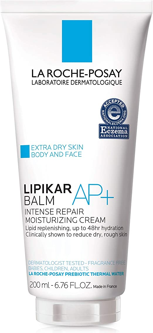 La Roche Posay Lipikar Eczema Soothing Relief Cream For Body Hands & Face 200ml