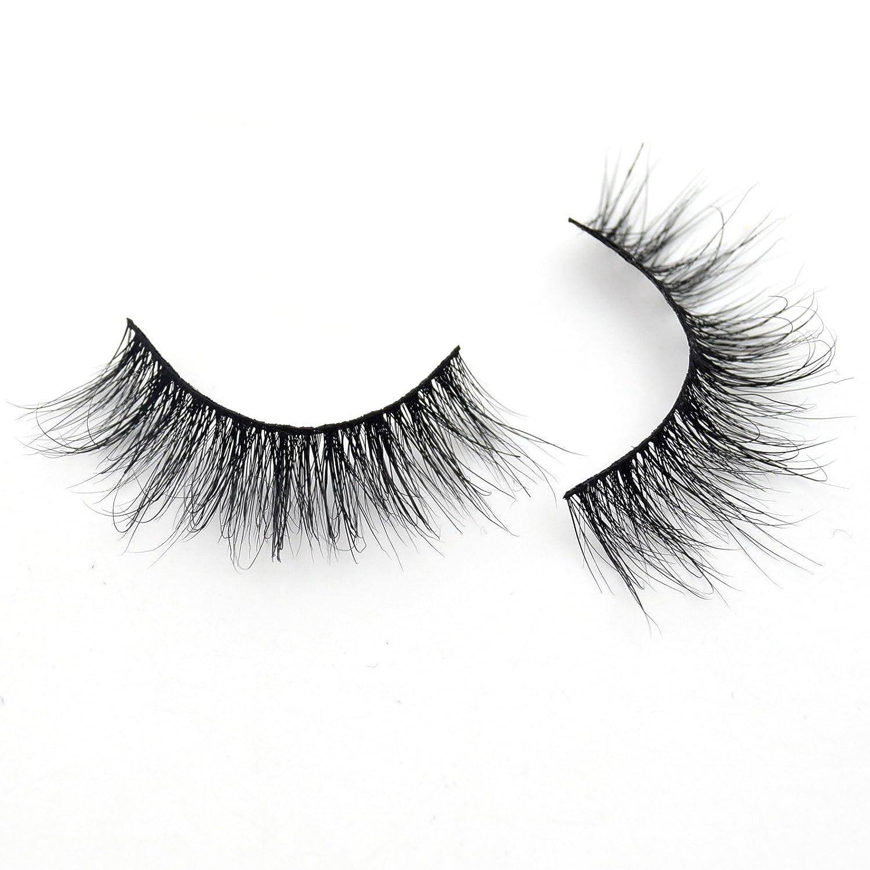 be273f14775 Amazon.com : Visofree Medium Volume 3D Mink Lashes Reusable Natural  Eyelashes/False Eyelashes/Mink Eyelashes : Beauty