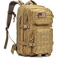 REEBOW GEAR Military Tactical Backpack Large Army 3 Day Assault Pack Molle  Bug Out Bag cd827ff4024fa