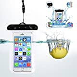 Universal Waterproof Mobile Phone Case Pouch For apple HTC MI Samsung