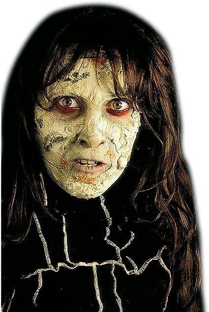 Net Toys Zombie Haut Make Up Halloween Schminke Grau Hexen Makeup