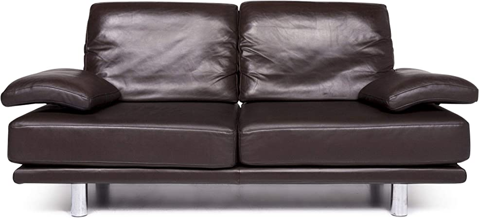 Rolf Benz 2400 Leather Sofa Brown Two Seater Couch Sanaa Amazon Co Uk Kitchen Home