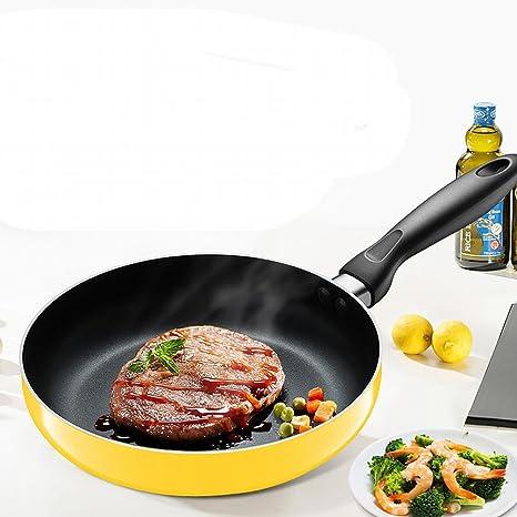 Las Cacerolas No Se Pegan Pan Sartén Panqueques Decocción sin Aceite Pan con Cocina de Inducción