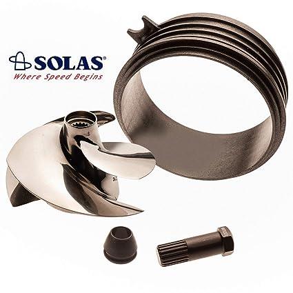 Solas Sea Doo Spark 2-UP 3-UP Impeller SK-CD-12/17 w/ Wear Ring & Impeller  Tool