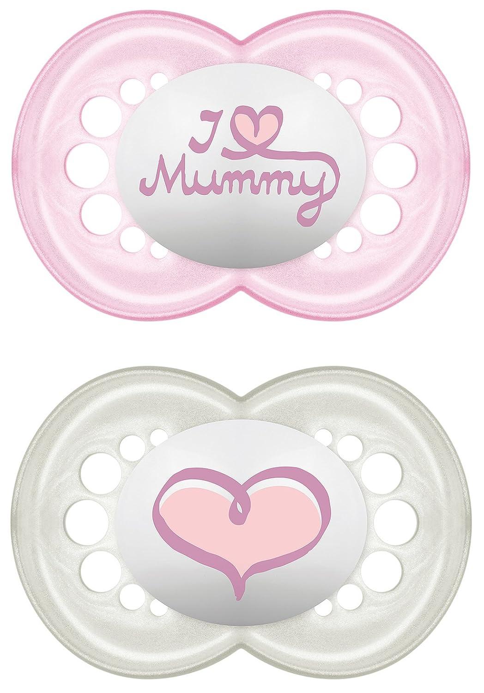 Mam Chupete Original silicona I Love Mummy, 2 unidades ...