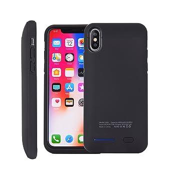 3eb91cb137 COOLEAD iPhone X 専用バッテリーケース iPhone10 充電ケース 全面保護 iPhone Xケース 軽量 薄型