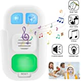 LUXSWAY Kids Musical Timer for Teethbrushing with 3 Level Volume, 20 Seconds Handwash Timer and 2 Minutes Teeth Brush Timer Musical for Kids Training, Battery Powered Indicator LED Light