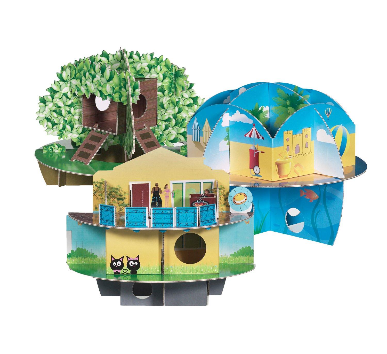 Habitrail OVO 3-Pack Chewable Cardboard Hamster Maze