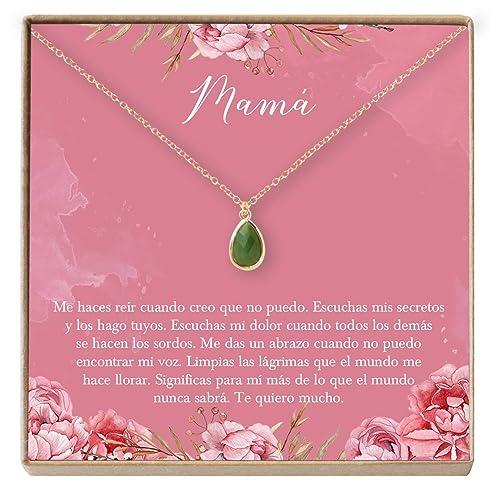 Collar Regalo para Madre, Mamá, Día de la Madre, Cumpleaños ...