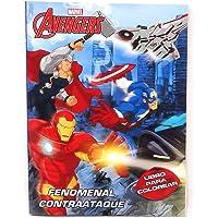 Marvel Avengers Libro Interactivo con Actividades múltiples de192 páginas.