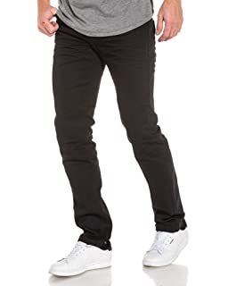 BLZ Jeans - Jean Gris délavé Homme Coupe Droite  Amazon.fr ... b0c5fb66cd64
