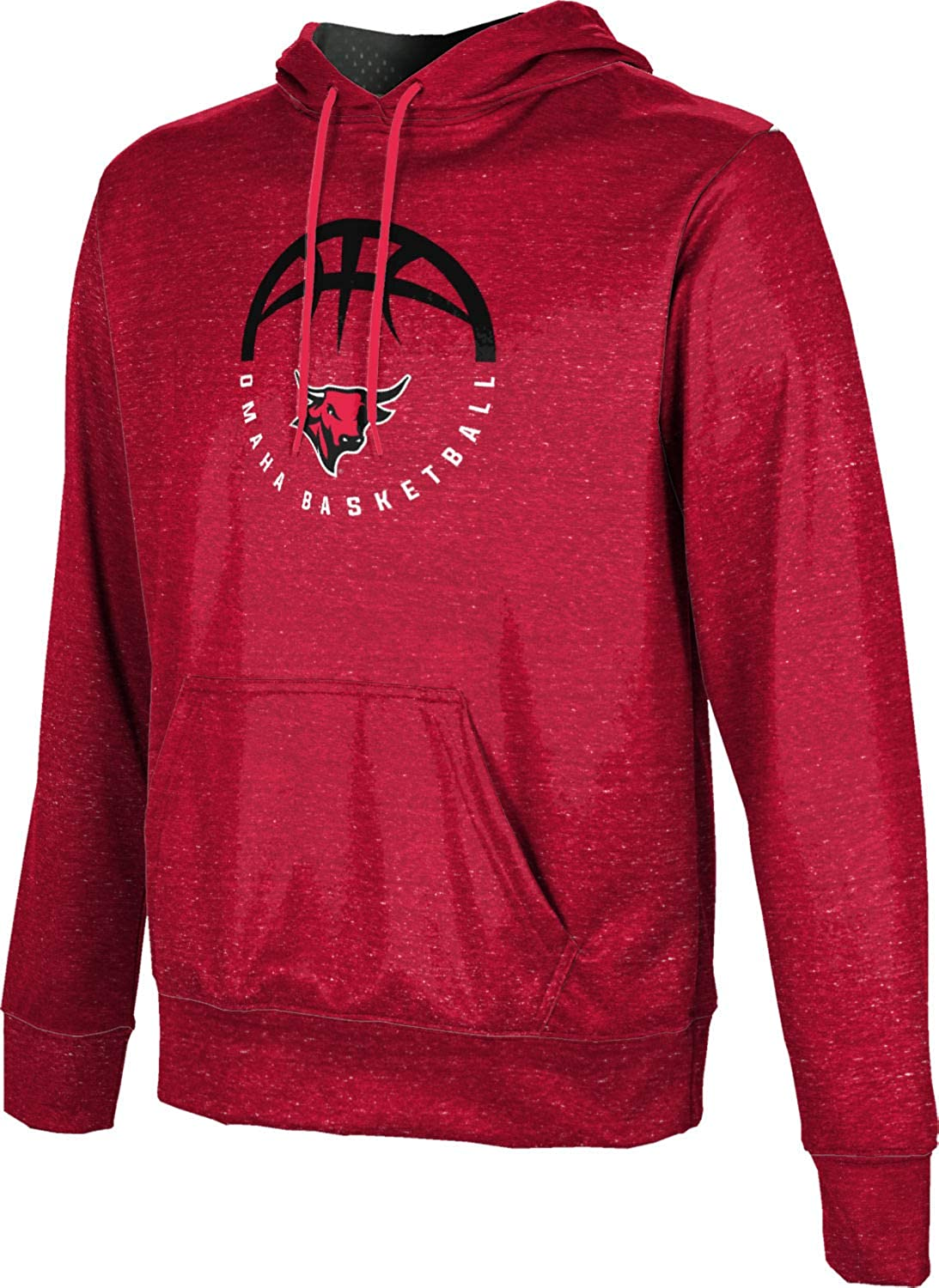 ProSphere University of Nebraska at Omaha Basketball Boys Pullover Hoodie Heather