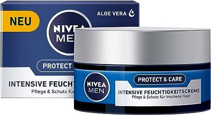 Nivea men - Crema hidratante intensiva original, suave, pack de 3 ...