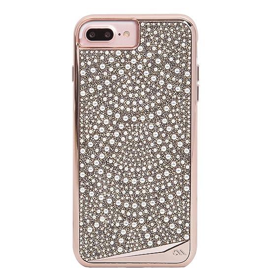 promo code 420f5 9c929 Case-Mate iPhone 8 Plus Case - BRILLIANCE - 800+ Genuine Crystals -  Protective Design for Apple iPhone 8 Plus - Lace
