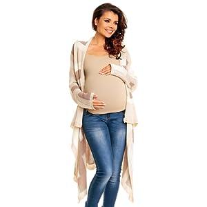 Zeta Ville Maternité - Cardigan grossesse Gilet Veste Cascade - femme - 277c