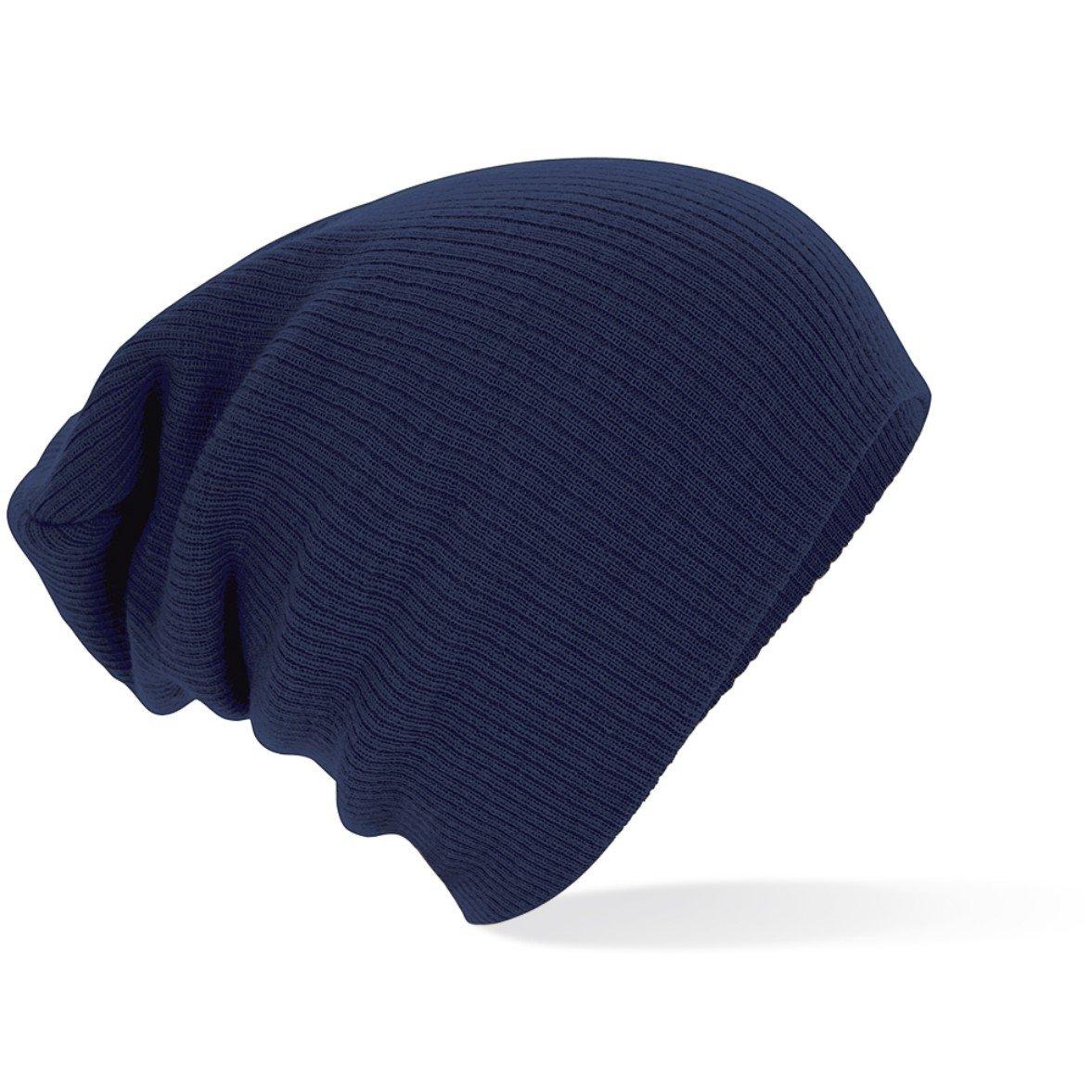 Slouchmütze, Fashion-Hat, Wintermütze, Größe Unisex viel Farben Frenchnavy
