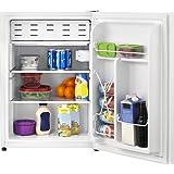 Insignia - 2.6 Cu. Ft. Compact Refrigerator - White