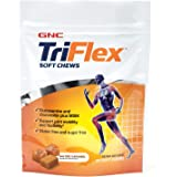 GNC TriFlex Soft Chews, Salted Caramel, 60 Soft Chews, Supports Joint Health