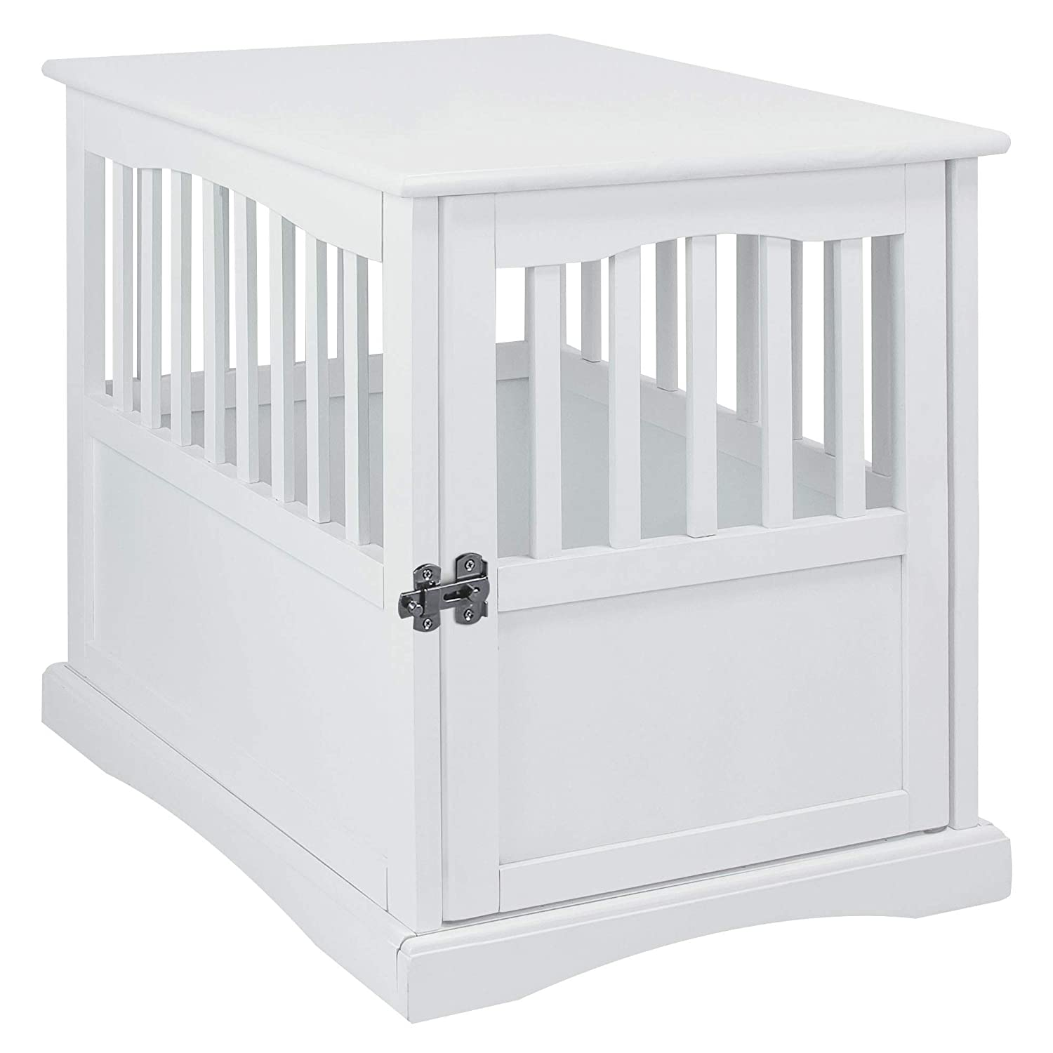 White Pet Crate- 24\ White Pet Crate- 24\ Style Legs