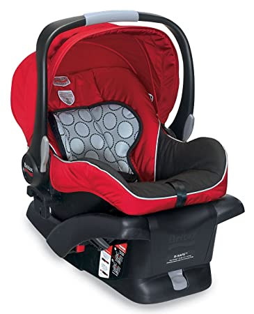 Amazon.com: Britax B-Safe Infant Car Seat, Red (Prior Model): Baby