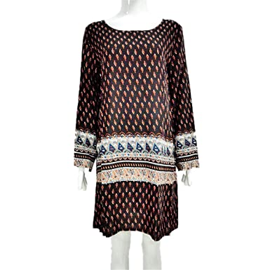 Paule Trevelyan NEW hot venda nova vestidos estampados moda boho solto dress vintage clássico das mulheres