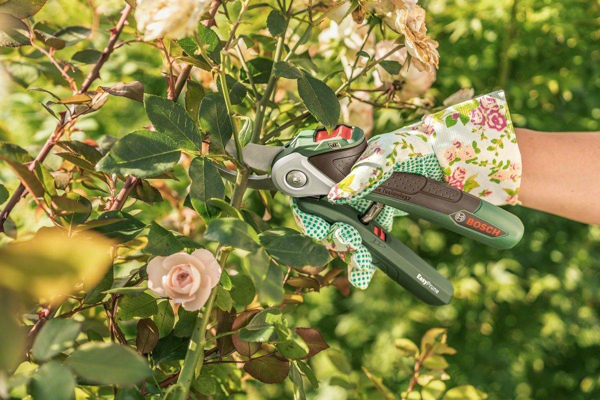 USB Ladeger/ät, Softcase, 3,6 Volt, 1,5 Ah Bosch Akku-Gartenschere EasyPrune