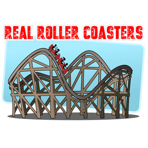 Real Roller Coasters Anaglyph Vol 1