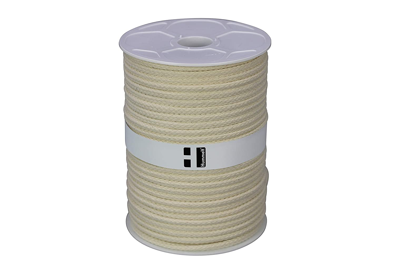 Corde en coton, 10mm, 50m, Naturel (beige), sur rouleau de Hummelt® sur rouleau de Hummelt® Hummelt® Germany GmbH
