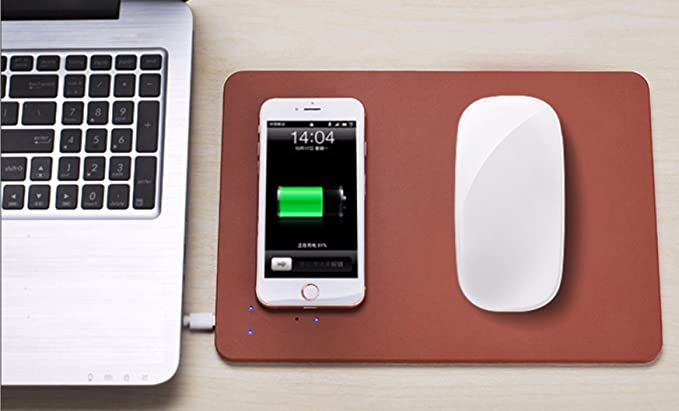 Go Hooked Wireless Charging Mouse Pad  Assorted Color  Mouse Pads
