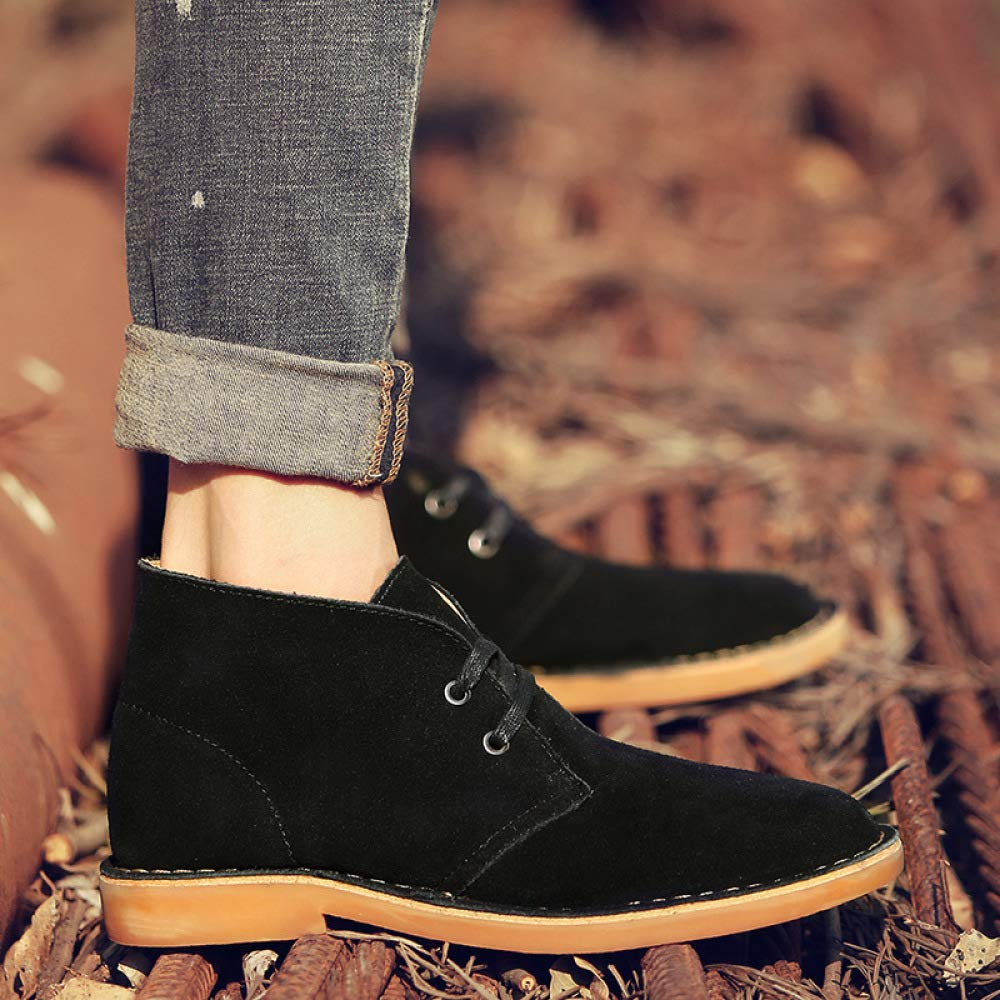WDYY Oto ntilde;o E Invierno Casual Inglaterra Botas Botas Martin Botas Botas De Los Hombres De Moda Zapatos De Los Hombres Botas De Herramientas 6cabab