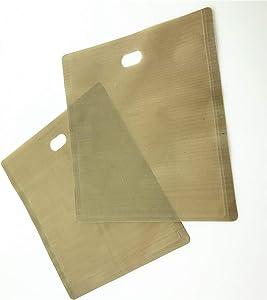STARPAD Air Fryer Bag Sandwich Toast Bag Toast Slice Heating Bag Non Stick Toaster Bag 12pcs