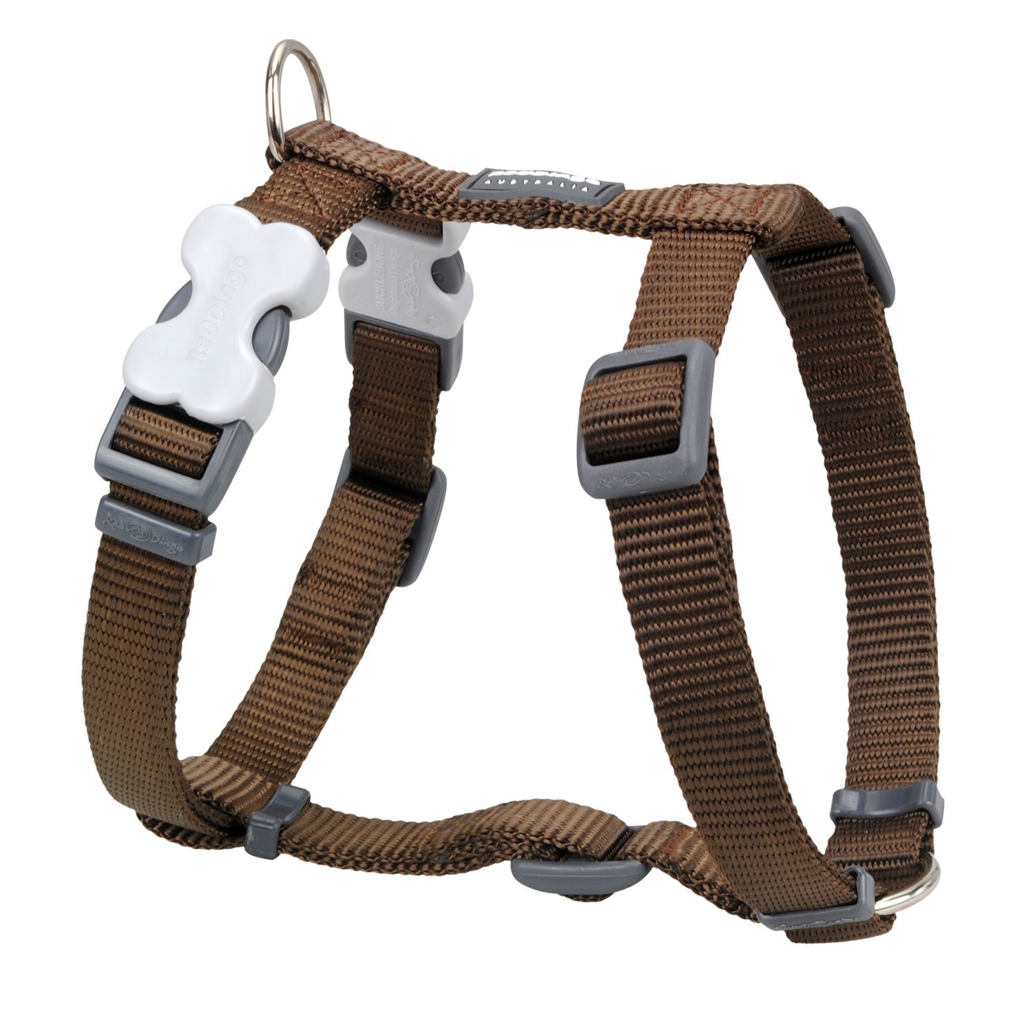 Red Dingo Plain Dog Harness DH-ZZ-OR-20
