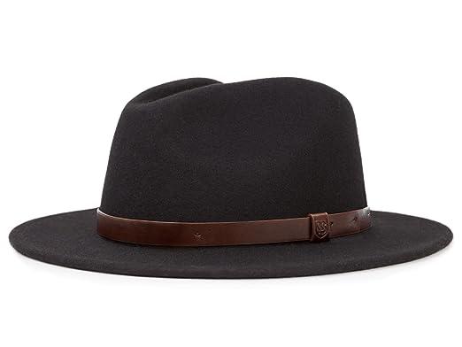 Brixton Messer - Sombrero Traveller para hombre - negro  Amazon.es  Ropa y  accesorios 9a893c48fff