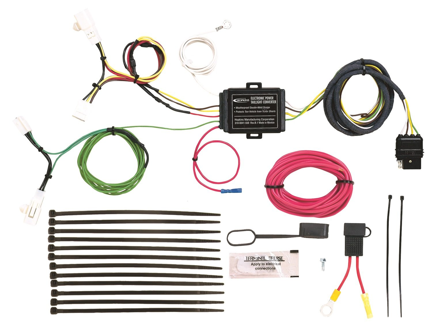 Hopkins Hitching Wiring Diagram Building A Simple Automotive Amazon Com 41854 Plug In Vehicle Kit Columbia
