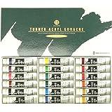 ターナー色彩 アクリルガッシュ 18色スクールセット AG18C 11ml