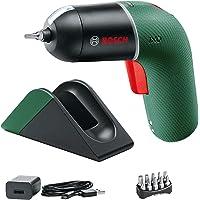 Bosch Accuschroevendraaier IXO Set met Micro-USB oplaadstation plus oplaadkabel (6e generatie, groen, variabele…