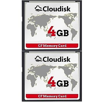 2pcs 4 GB Rendimiento De La Tarjeta De Memoria Compact Flash De 4GB CF Para Cámara Digital Vintage