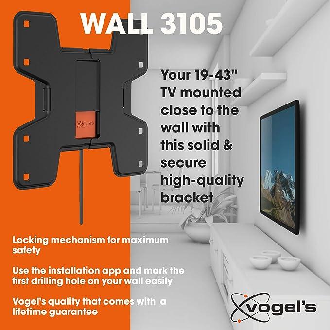 Vogels WALL 3105, Soporte de pared para TV 19: Amazon.es: Electrónica
