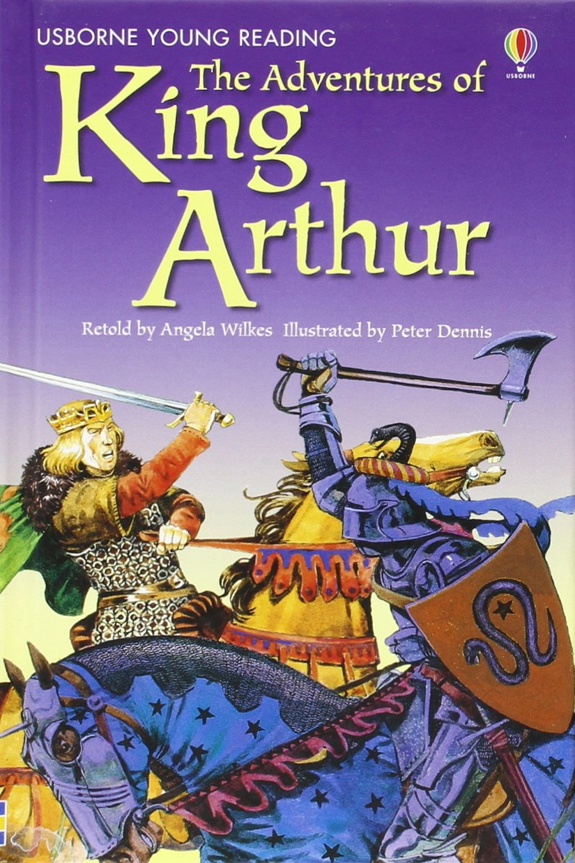 the-adventures-of-king-arthur-3-2-young-reading-series-two-blue