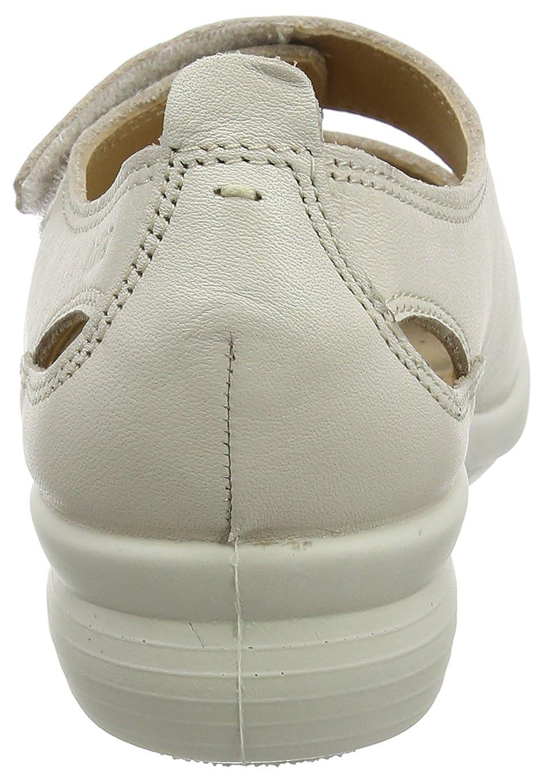 Hotter Damen Florence Offene Sandalen mit Keilabsatz Beige (Soft (Soft (Soft Beige) a5e225