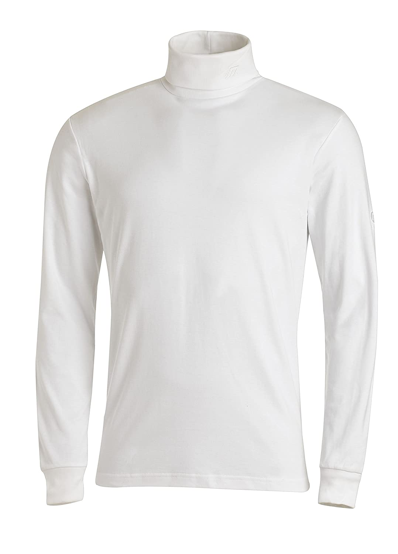 para hombre Medico Camiseta de esqu/í de manga larga de 100 /% algod/ón cuello alto