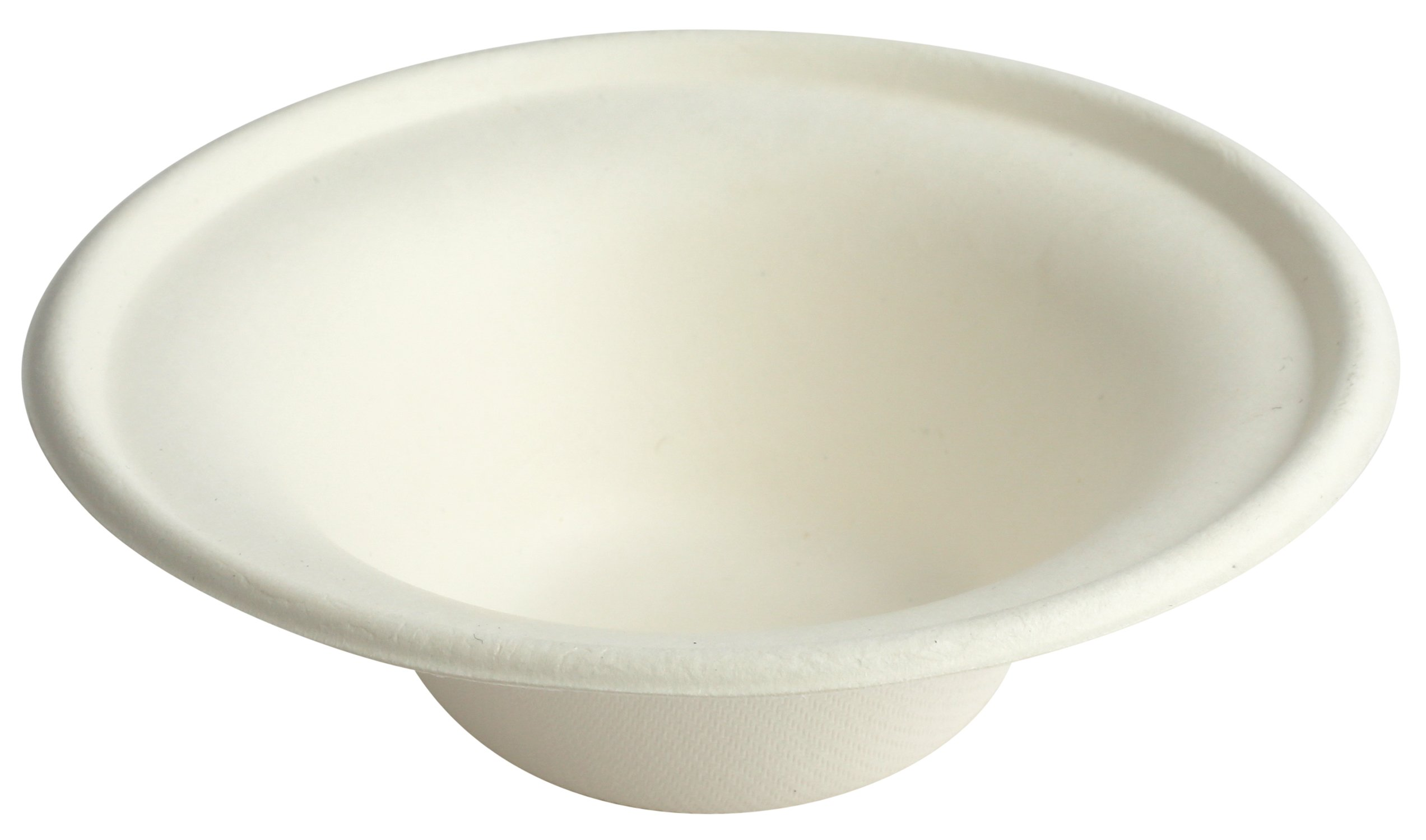 Brheez 8 ounce Heavy Duty Bowls 100% Natural Sugarcane Biodegradable Compostable Bagasse, Eco-friendly paper alternative - Pack of 60