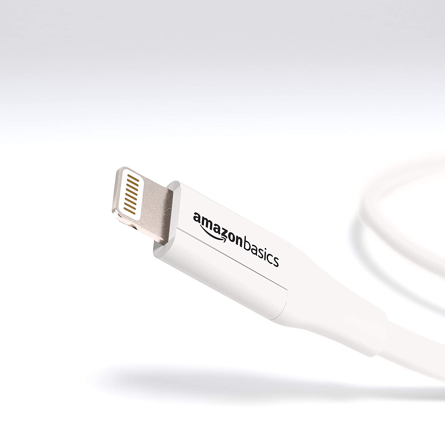 MFi Certified iPhone Charger Grey Advanced Collection 6 Foot Basics Lightning to USB A Cable