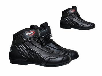Botas de moto MAXFIVE, Paddock, para aventura en carretera de corto recorrido, zapatillas
