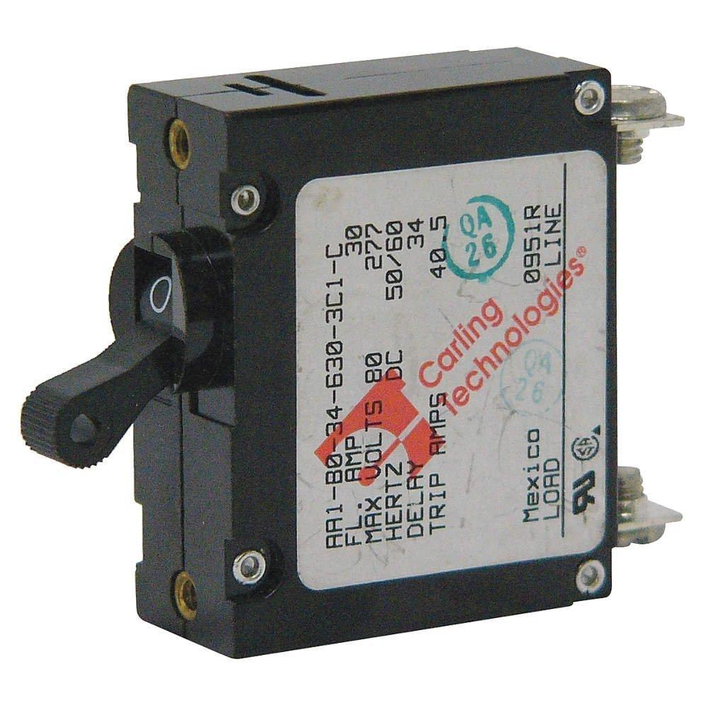 magnetisch Leitungsschutzschalter 1p 15 Amp 277 VAC/80vdc: Amazon.de ...