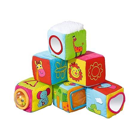 babywalz cubes en tissu cube bb d de jeu taille tu en. Black Bedroom Furniture Sets. Home Design Ideas